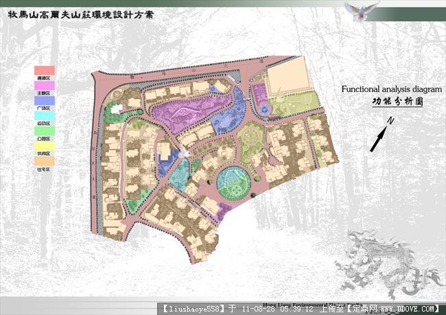 实训优秀景观设计-居住区景观设计文本一套-15张大图