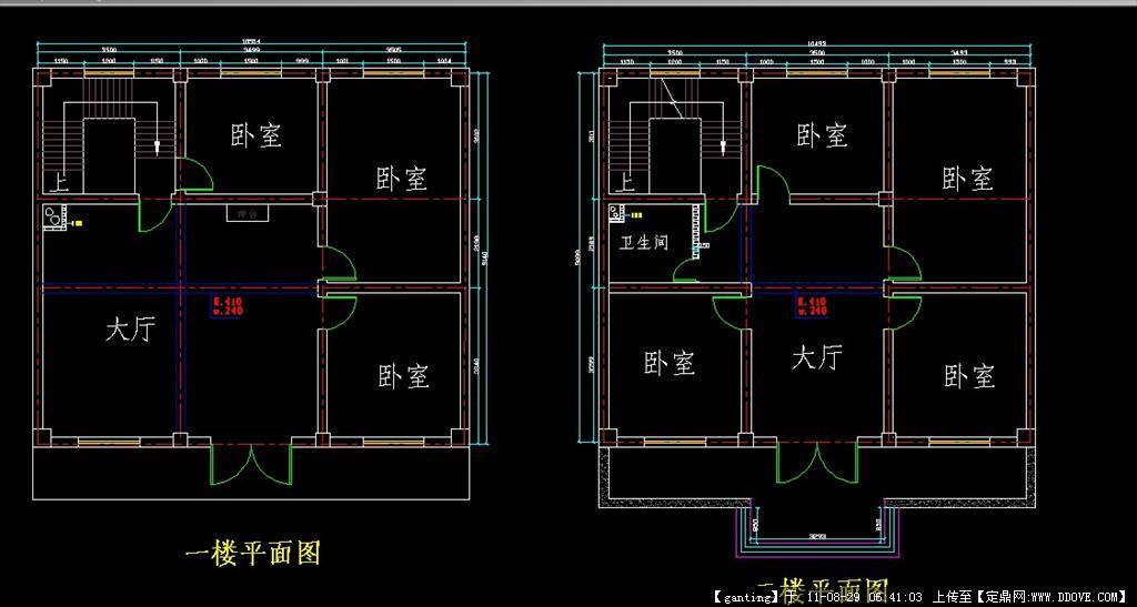 单元式住宅底层的平面布置图图片 单元式住宅底层平面图,住