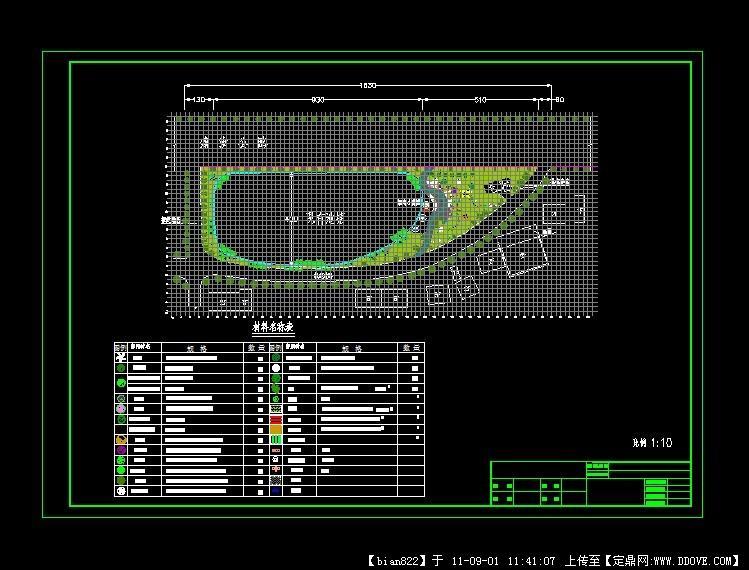 街头绿地小游园平面设计图