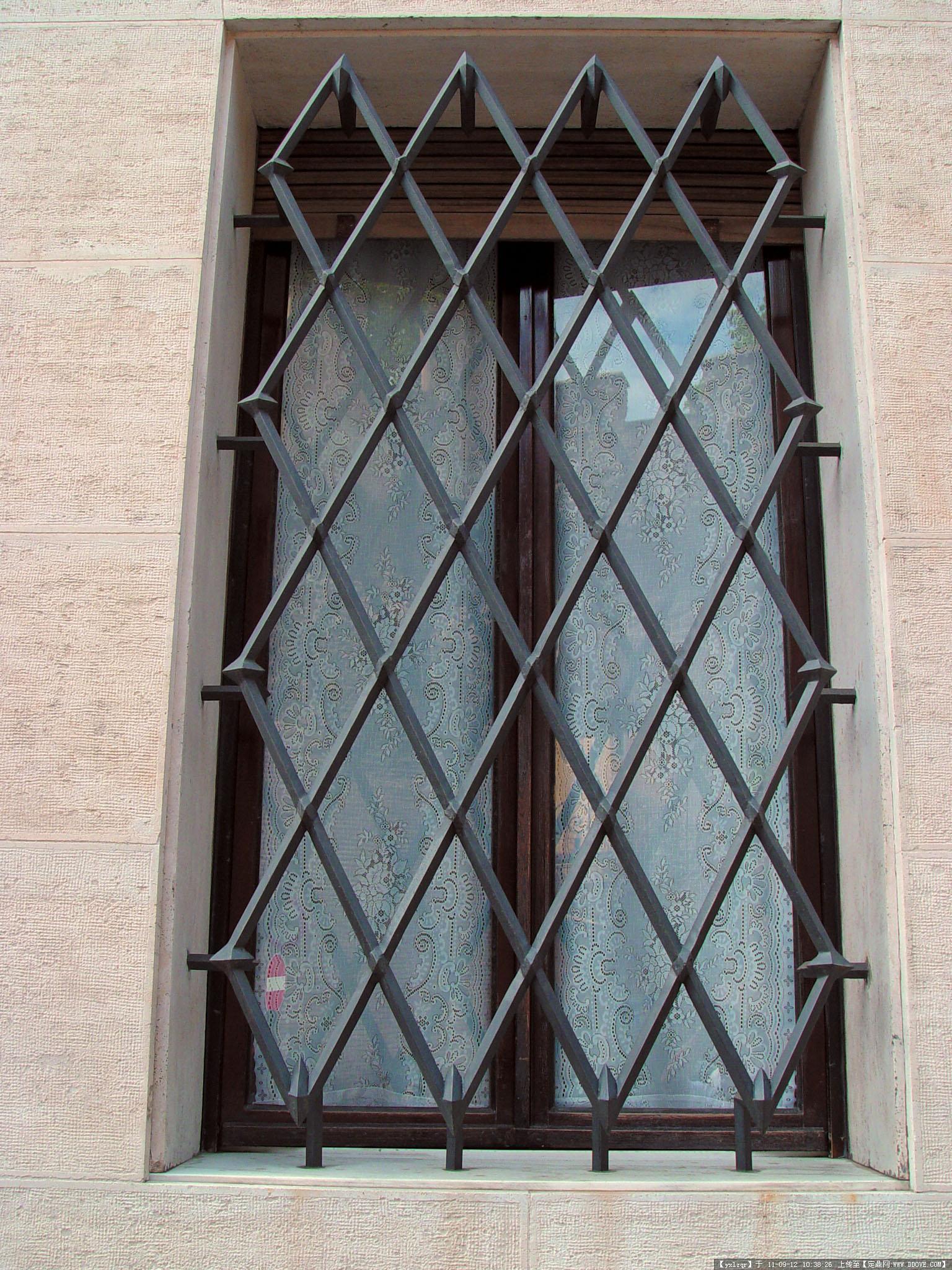 欧洲古典建筑景观 窗的造型