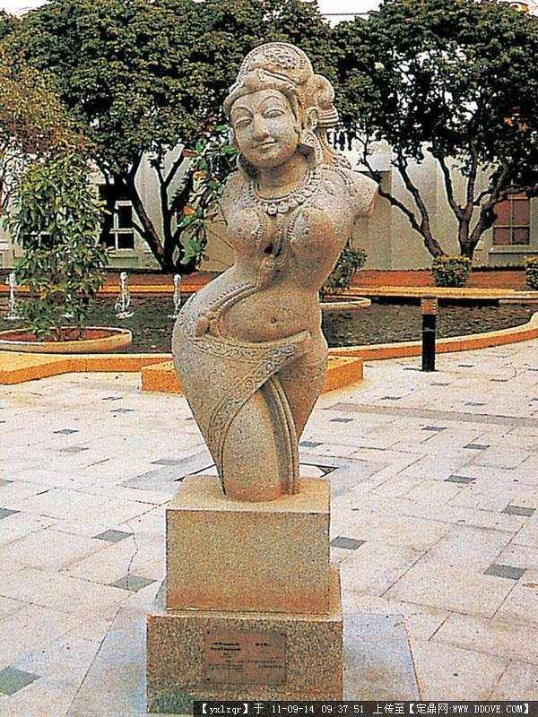 景观小品 人物雕塑