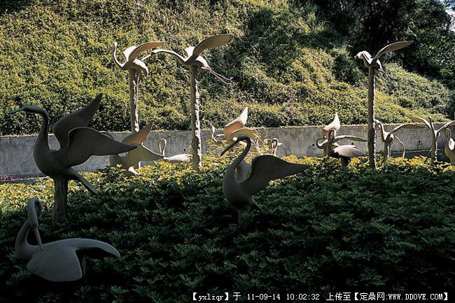 景观小品 动物雕塑的图片浏览