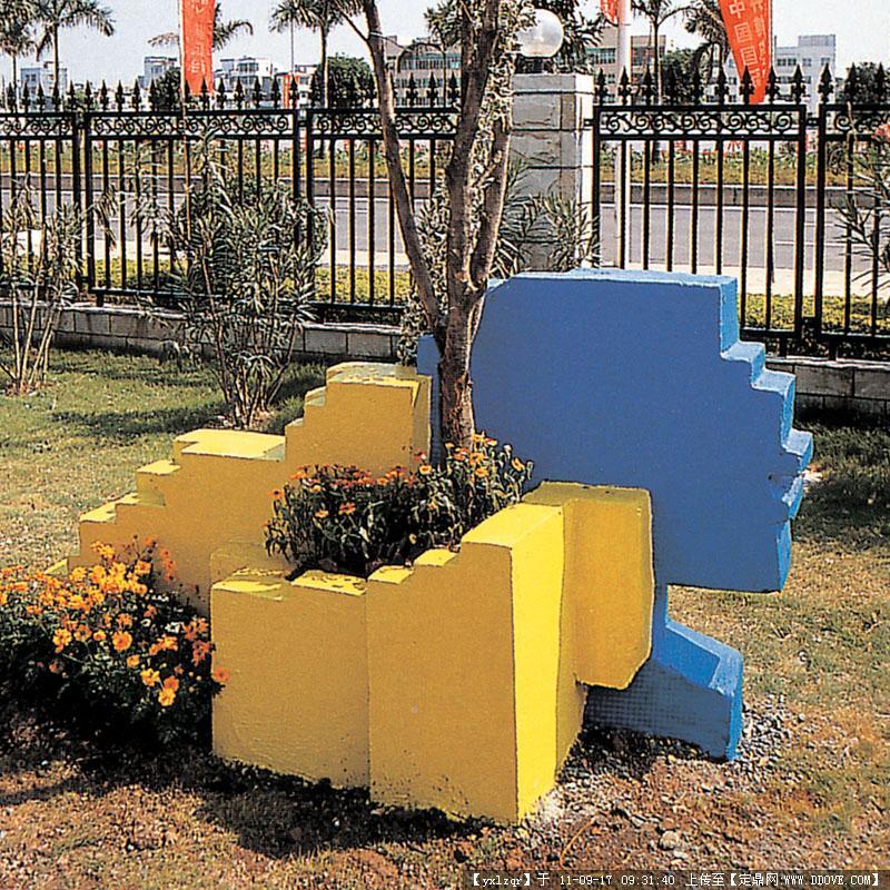 景观小品 彩色雕塑的图片浏览,园林节点照片,雕塑小品
