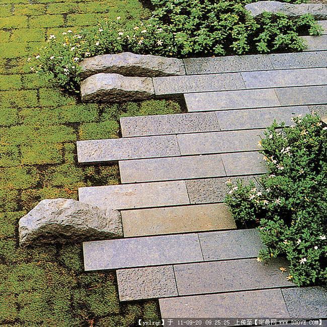 定鼎网 定鼎园林 园林节点照片 雕塑小品 景观小品 铺装实景照片  348