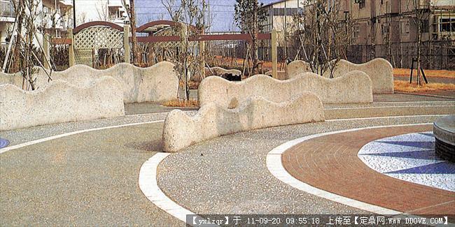 定鼎网 定鼎园林 园林节点照片 雕塑小品 景观小品 铺装实景照片  272