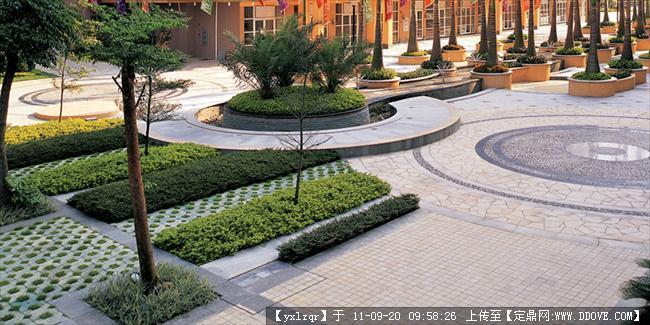 定鼎网 定鼎园林 园林节点照片 雕塑小品 景观小品 铺装实景照片  26