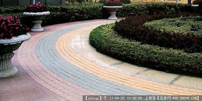 定鼎网 定鼎园林 园林节点照片 雕塑小品 景观小品 铺装实景照片  247