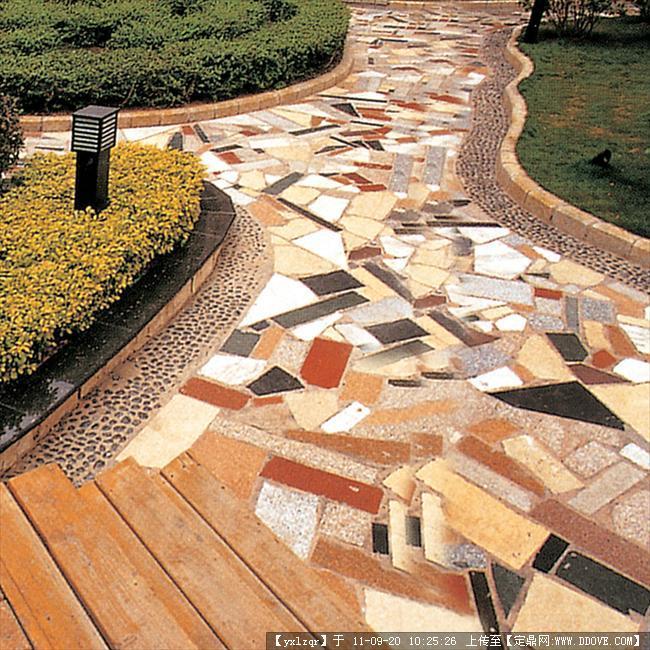 定鼎网 定鼎园林 园林节点照片 雕塑小品 景观小品 铺装实景照片  129