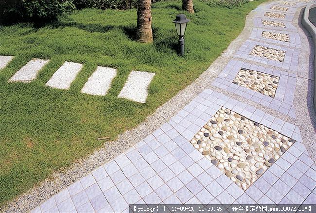 定鼎网 定鼎园林 园林节点照片 雕塑小品 景观小品 铺装实景照片  96