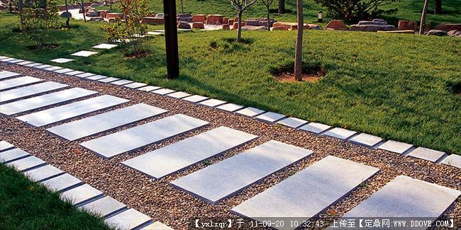 定鼎网 定鼎园林 园林节点照片 雕塑小品 景观小品 铺装实景照片  82