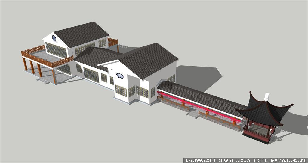 茶室设计cad+效果图的下载地址