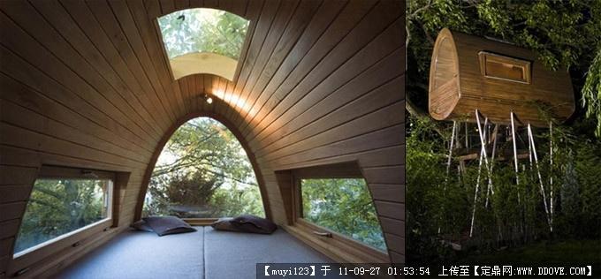 建筑设计中的木材元素的图片浏览