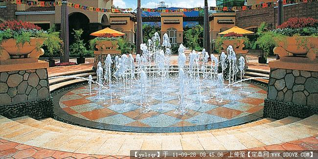 喷泉 雕塑喷泉 旱喷泉 壁泉的图片浏览,园林节点照片,喷泉,园林景观设计施工图纸资料下载