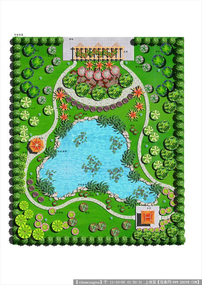 厂区规划平面图图片; 游园平面图的下载地址_小游园平面图,小游园手绘