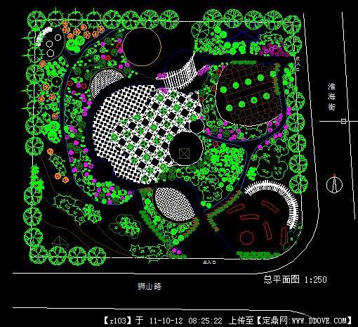 小游园设计方案图