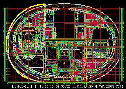 国家大剧院平面图cad的显示地址cad不能图下载的颜色层图片