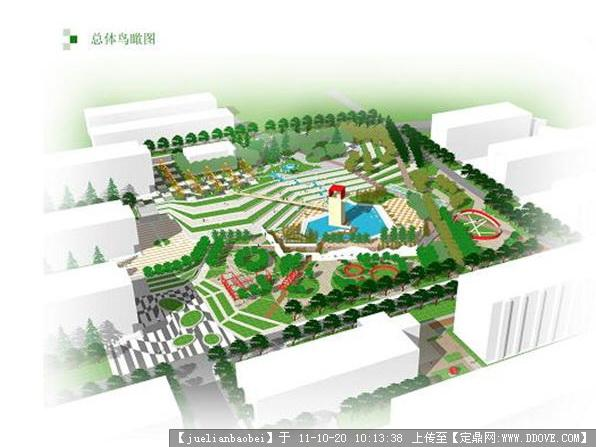 【青岛】某大学校园景观设计规划方案