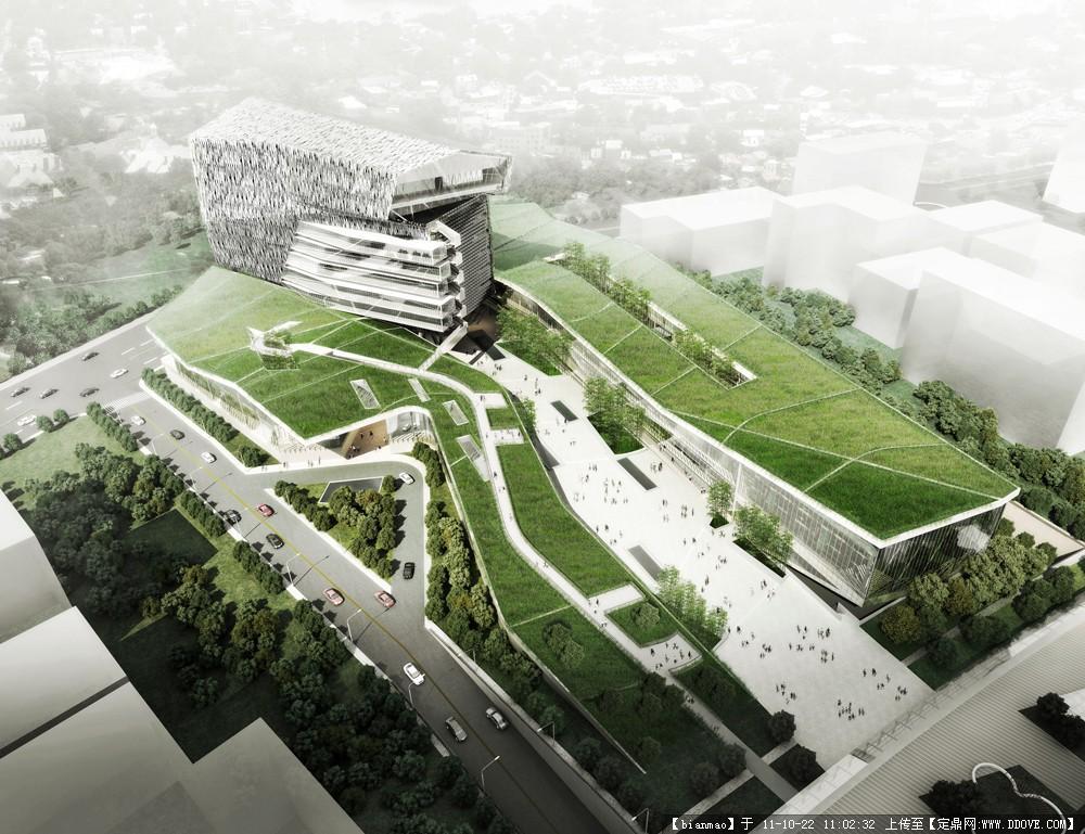 国外景观建筑设计效果图