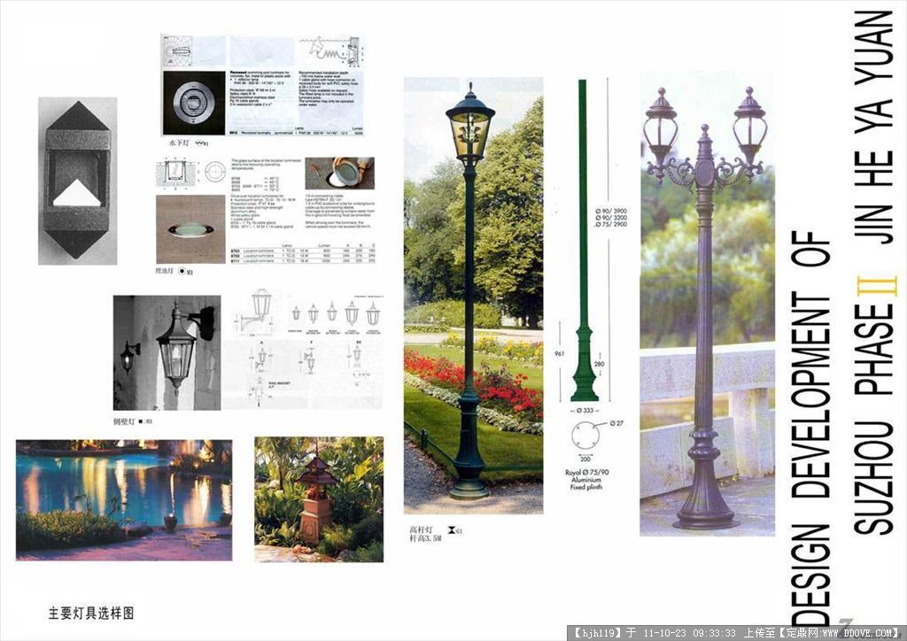 景观设计灯具参考图