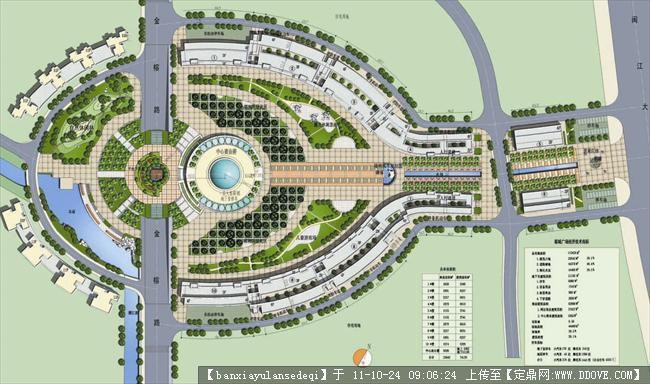 广场设计平面图-13个