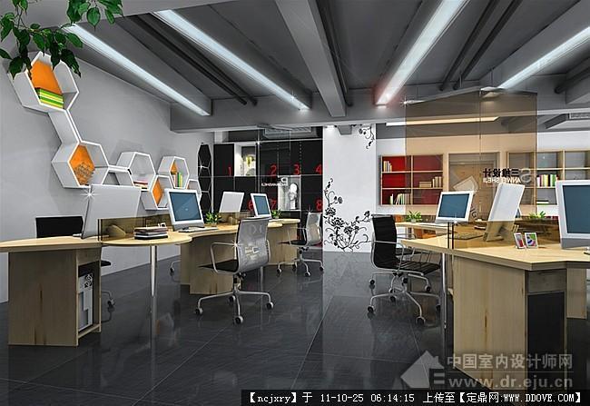 loft风格办公室效果图的下载地址