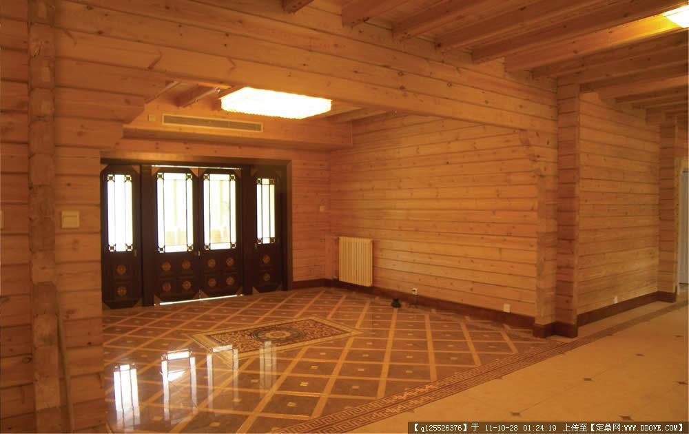 木屋别墅室内效果图
