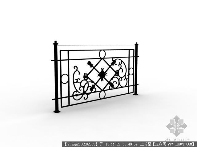 栏杆素材psd