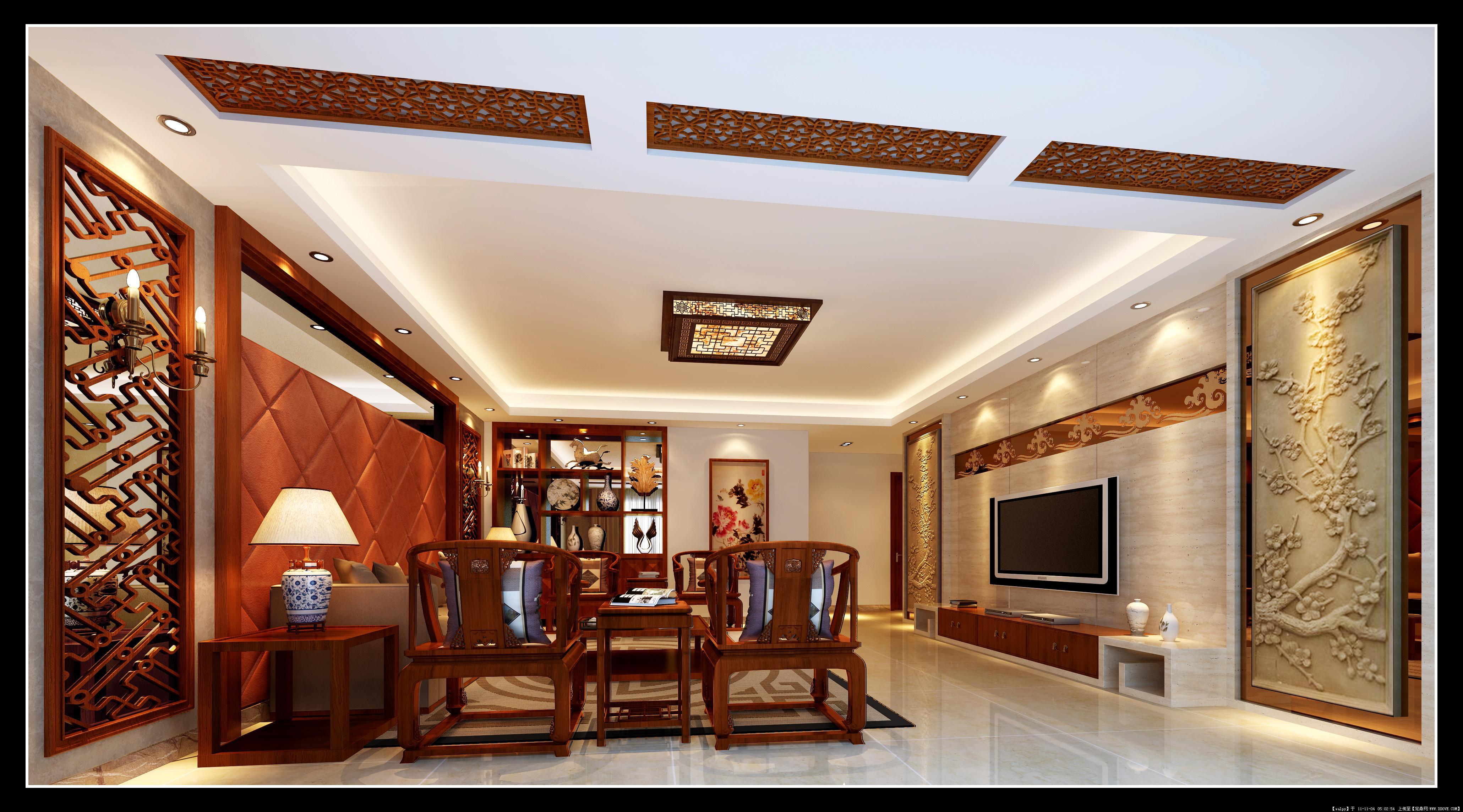 室内装修中式效果图