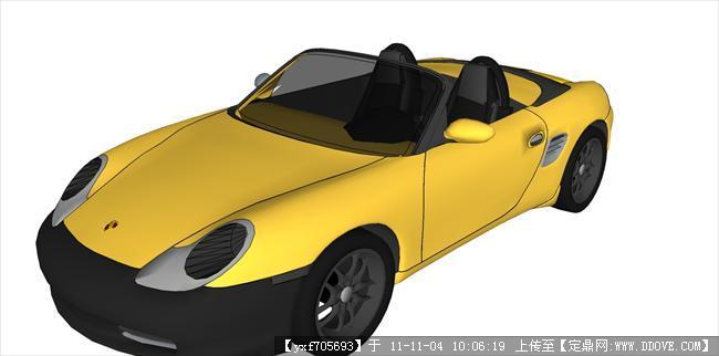 奥迪q7汽车 保时捷的下载地址,sketchup草图大师模型