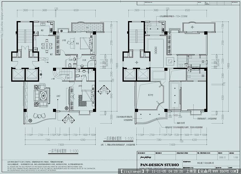 室内设计施工图纸