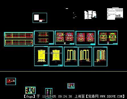 完整剪力墙结构建筑图