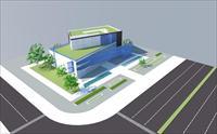 办公楼设计效果图