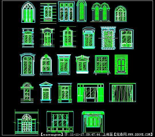 欧式传统建筑元素—窗台的下载地址