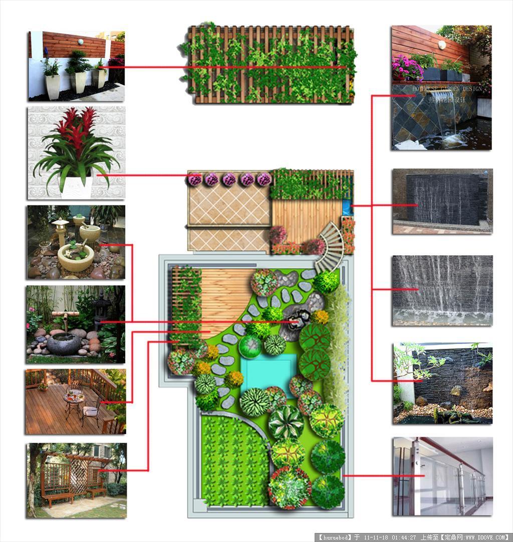 私家花园设计平面图
