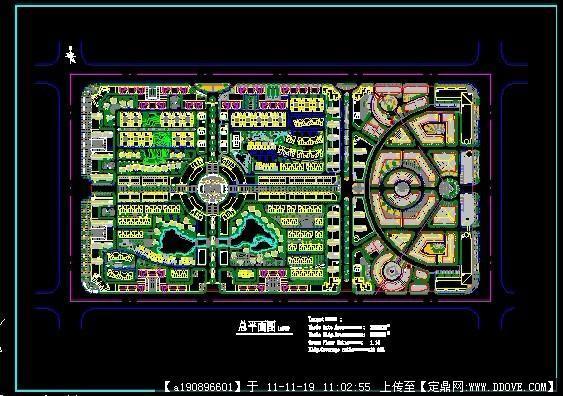 某小区规划图片图CAD在怎样方案cad二维中转为图片