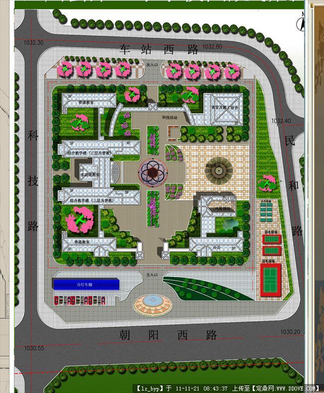 学校规划图-第三小学校园规划图副本.jpg