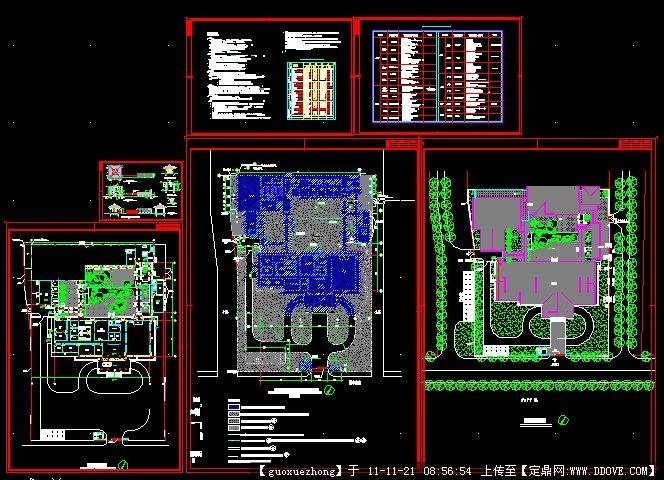 大酒店建筑方案文本 某五层办公楼设计施工图 三层办公楼施工图 营业