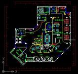 办公空间平面图