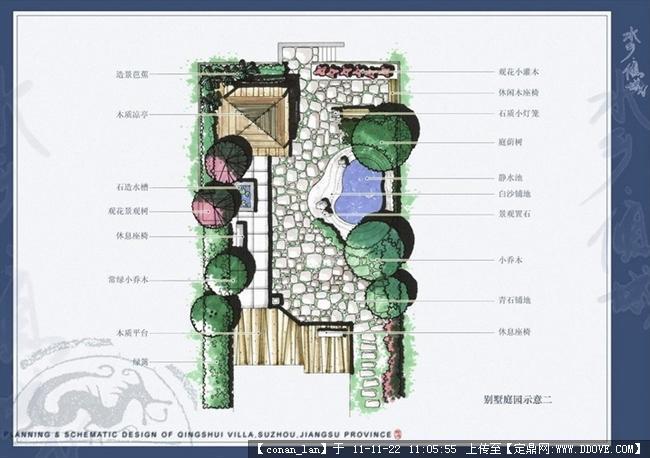 别墅景观设计平面图