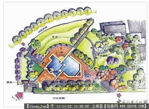 别墅景观设计平面图-007.jpg 原始尺寸:480 * 352