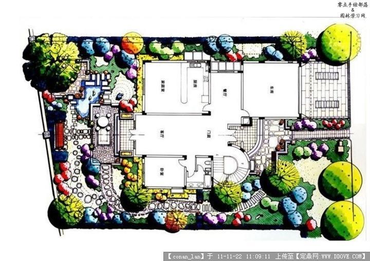 别墅景观设计平面图-013.jpg 原始尺寸:720 * 509