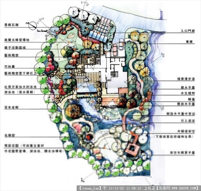 别墅景观设计平面图-014.jpg 原始尺寸:720 * 686