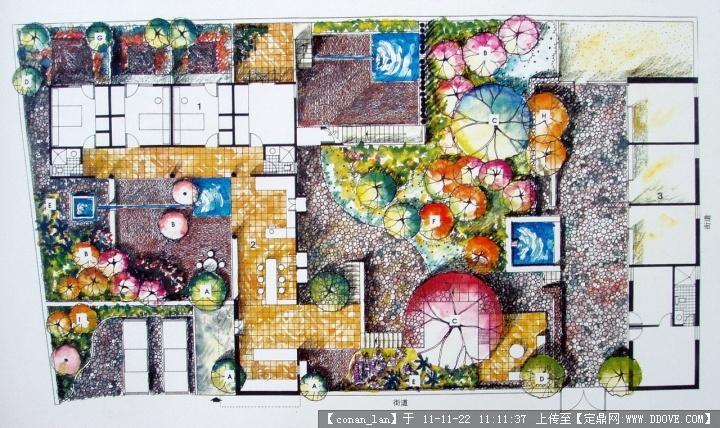 别墅景观设计平面图-021.jpg 原始尺寸:720 * 428