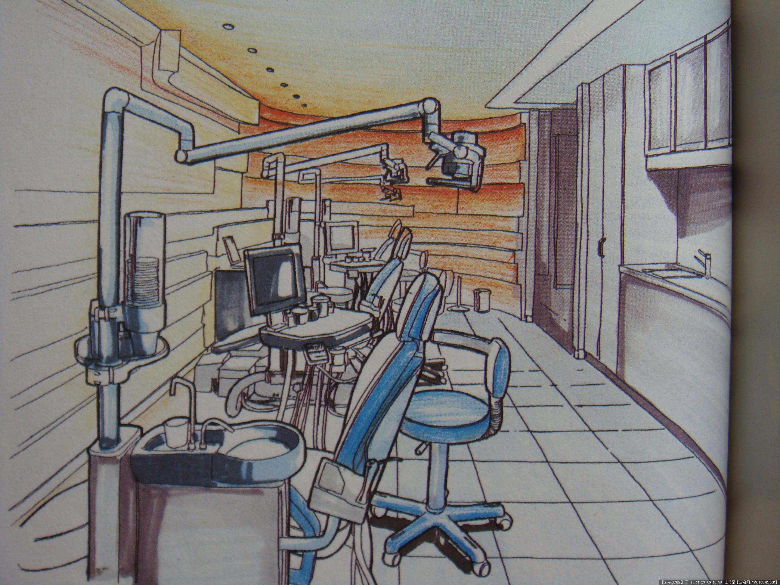 室内手绘效果图班
