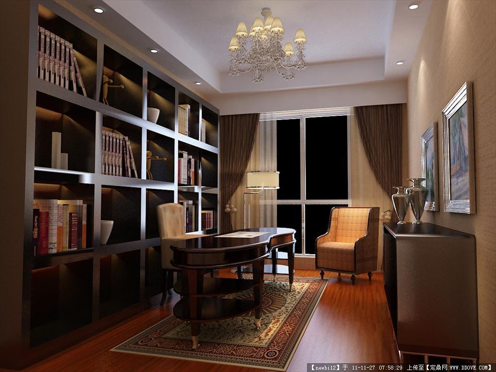室内设计 3dmax 外加效果图