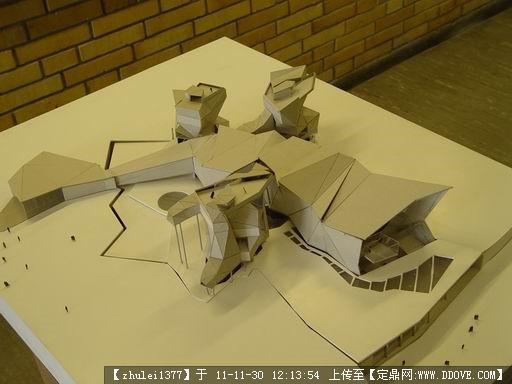 德国学生建筑设计作业