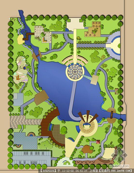 小游园景观设计(全套)