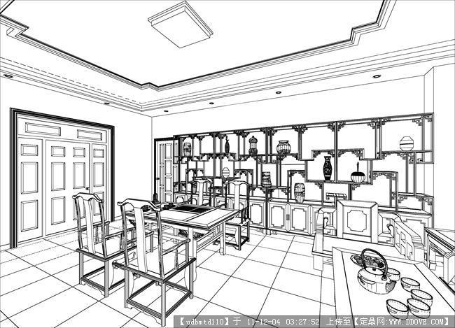 室内家具效果图