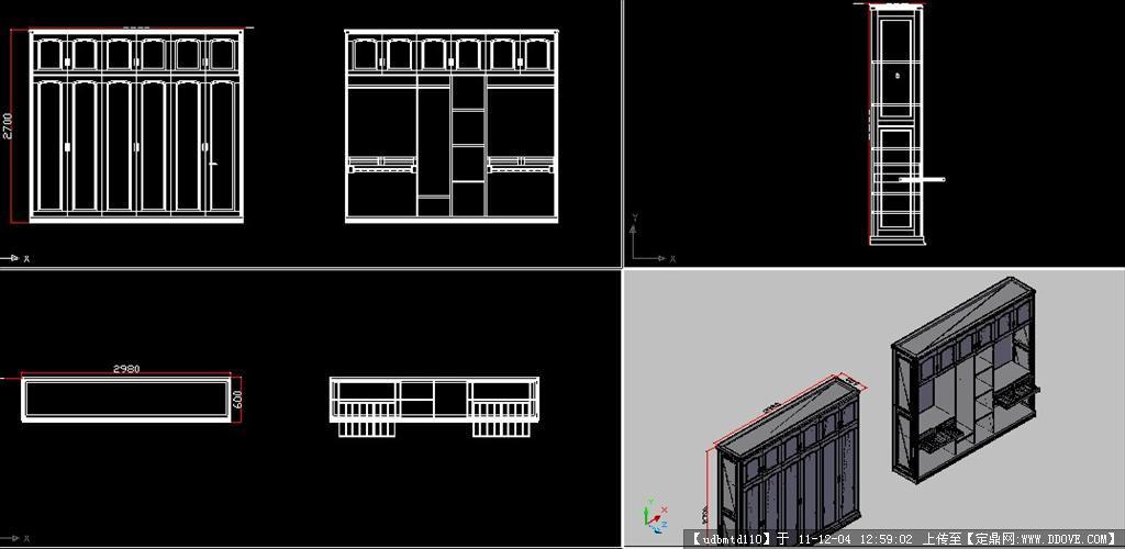 cad三维建模中式家具设计的下载地址,三维模型,室内