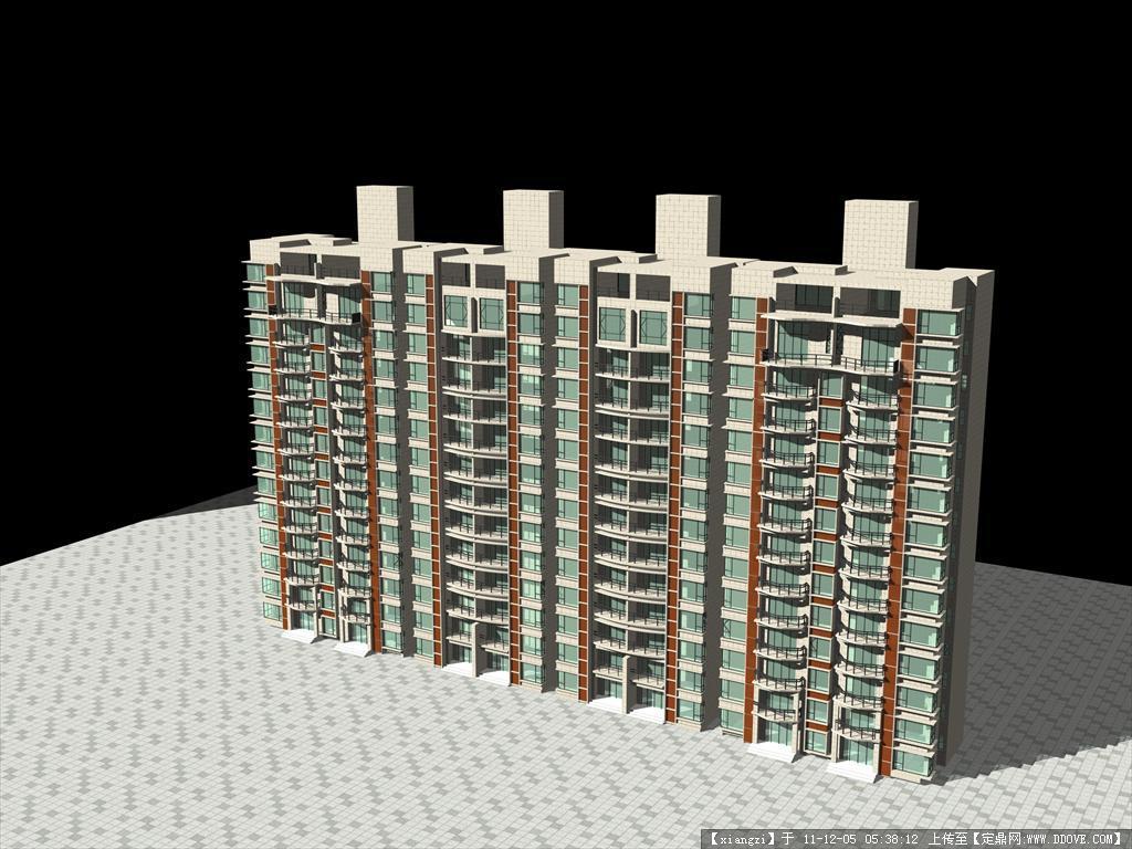高层建筑cad图纸